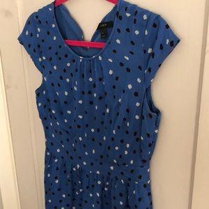 Polka dot Jcrew dress